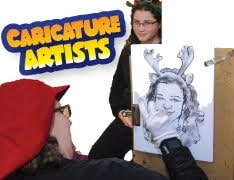 Caricature Artist Cartoon Art Service